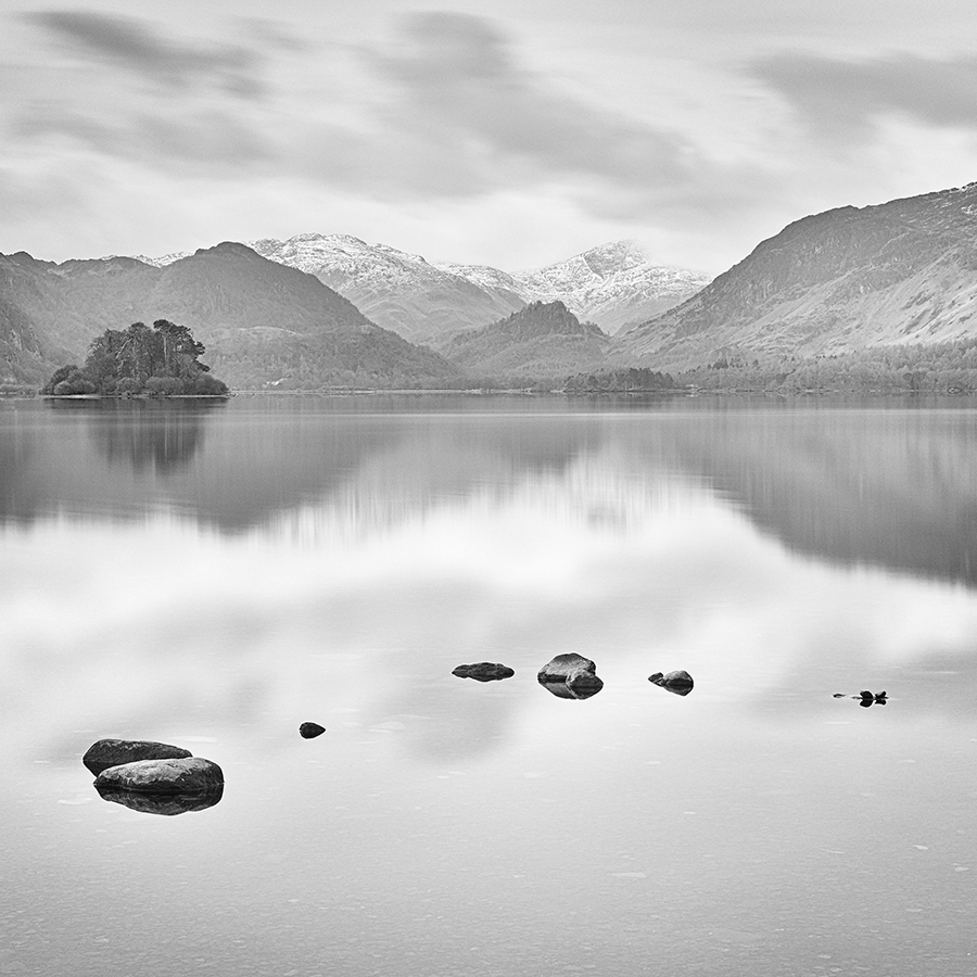 In Memory Of, Derwentwater Photograph by Steve Gosling