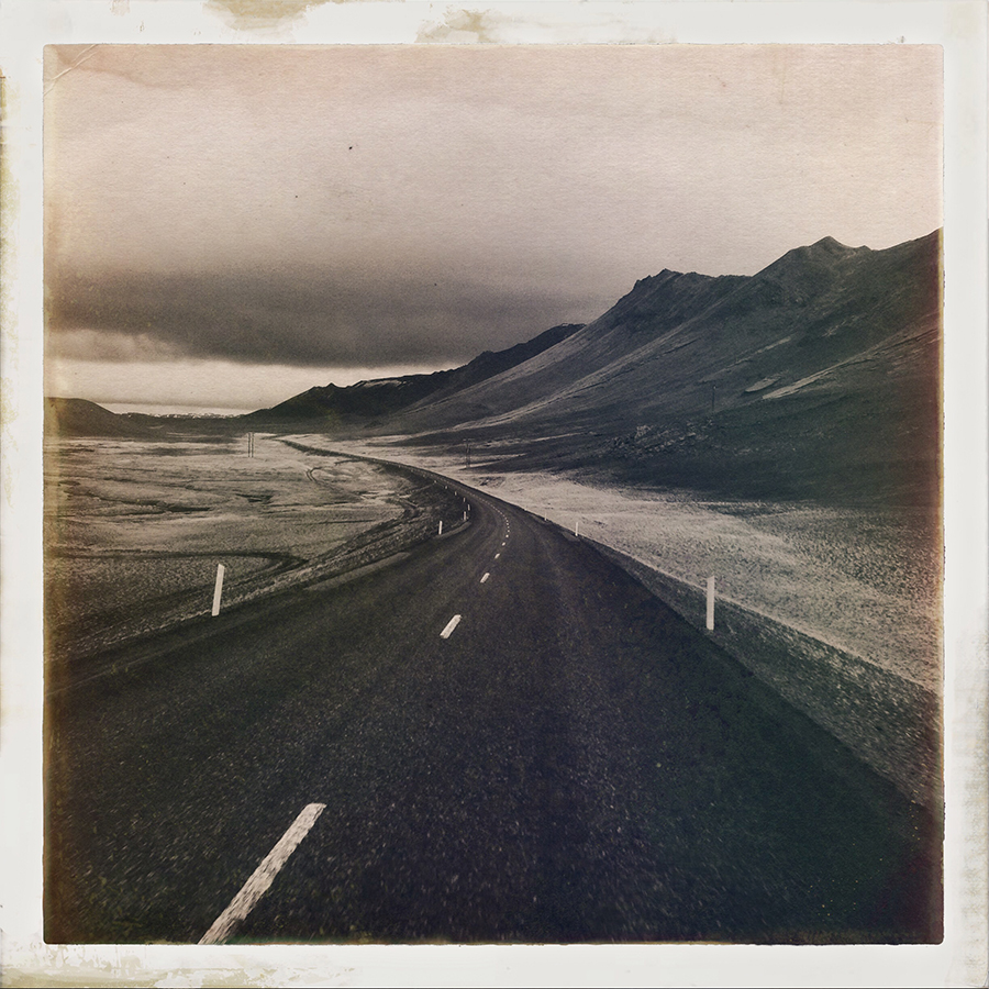 On the Road Again, Iceland Photograph by Steve Gosling