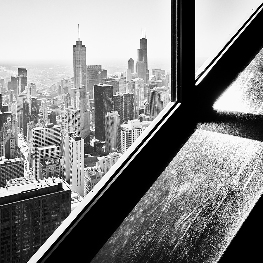 The City Below, Chicago by Steve Gosling