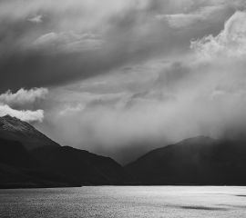 Rain Clouds Over Lake Wakatipu
